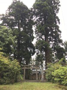 奈良県宇陀の山の中にひっそりとある屑神社。